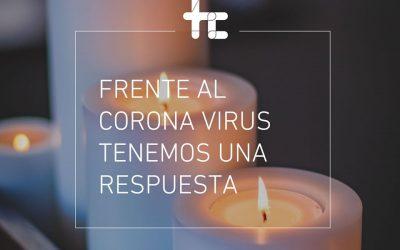 Frente al Coronavirus tenemos una respuesta