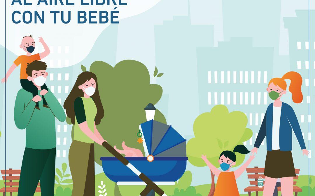 Tips para salir a pasear con tu bebé